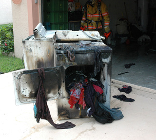 Air Doctor Example of A Dryer Fire