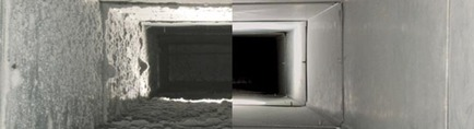 Air Doctor Before And After View Of Air Duct